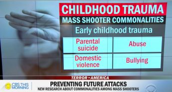 Childhood Trauma an Essential Ingredient in Mass Shootings